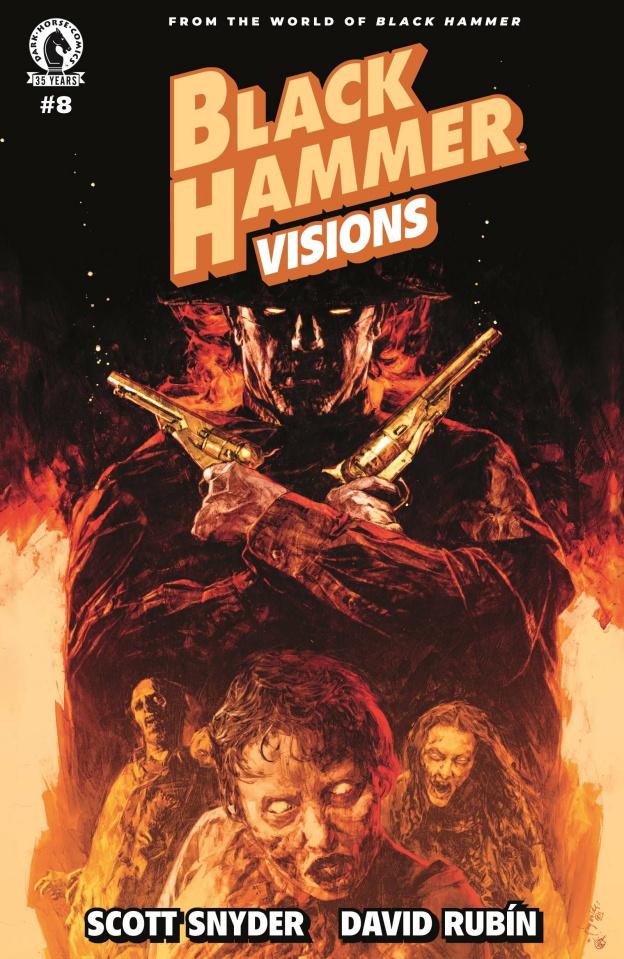 Black Hammer: Visions #8 (Reynolds & Nct Cover)