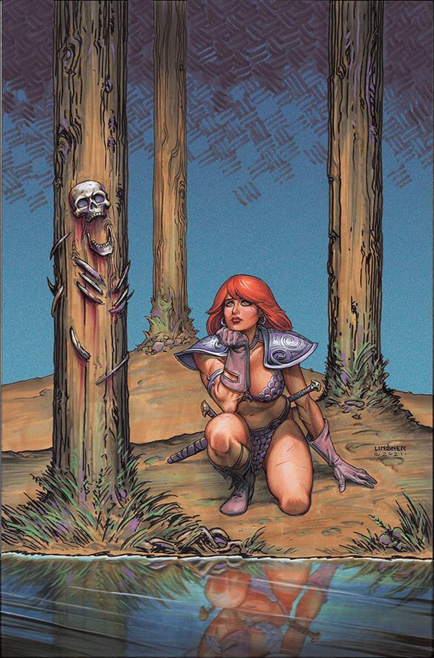 Red Sonja #28 (Linsner Virgin Cover)