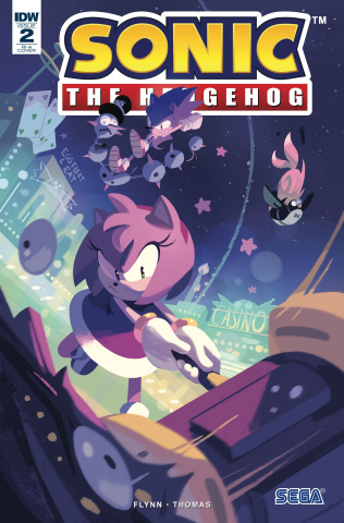 Sonic the Hedgehog #2 (10 Copy Cover)