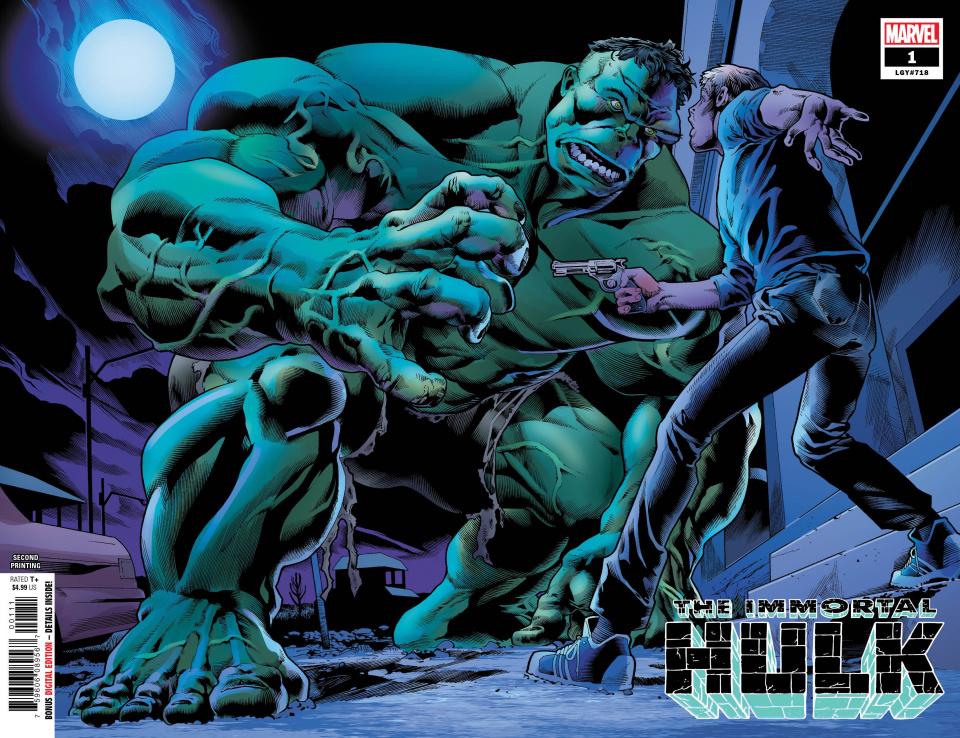 The Immortal Hulk #1 (Bennet 2nd Printing)