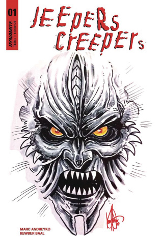 Jeepers Creepers #1 (Ken Haeser Sketch Edition)
