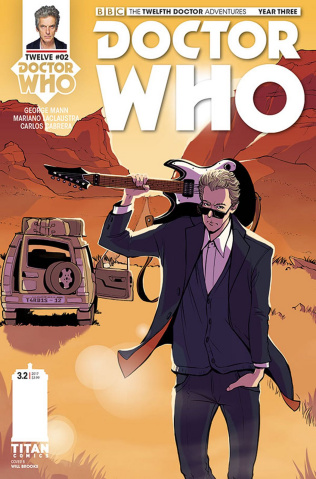 Doctor Who: New Adventures with the Twelfth Doctor, Year Three #2 (Zanfardino Cover)