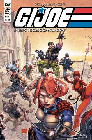 G.I. Joe: A Real American Hero #283 (Freddie Williams II Cover)