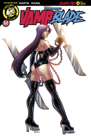 Vampblade, Season Two #4 (Rodriguez '90s Cover)