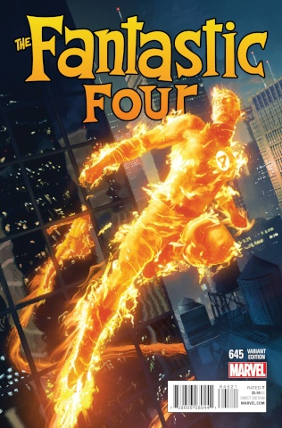 Fantastic Four #645 (Komarck Character Cover)