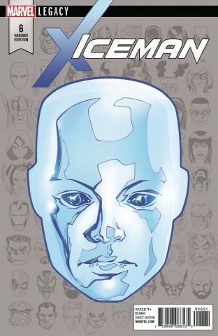 Iceman #6 (McKone Legacy Headshot Cover)
