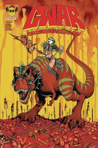GWAR: Orgasmageddon #3 (Neely Cover)