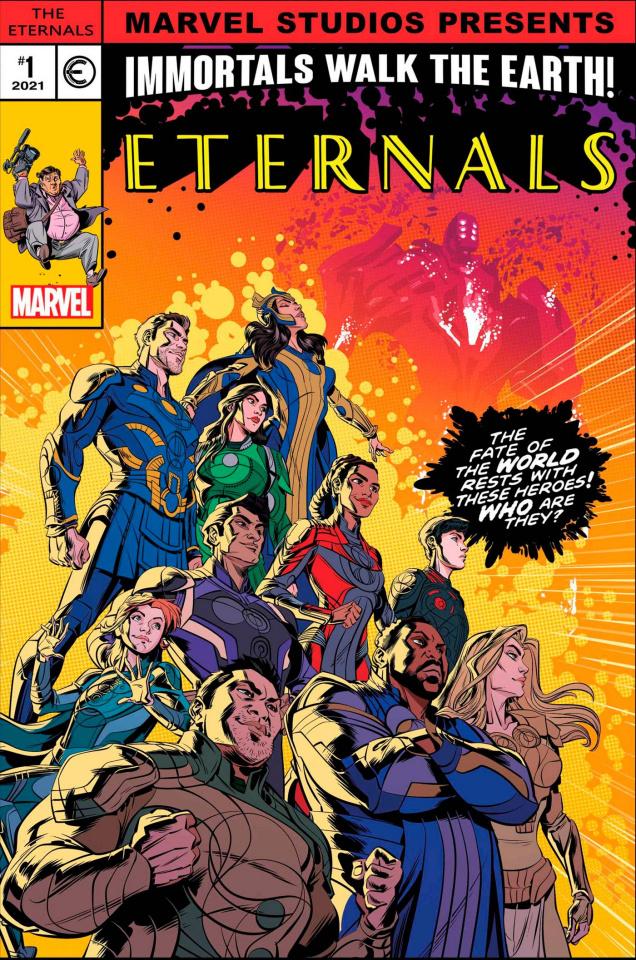 Eternals #8 (Castellani MCU Cover)