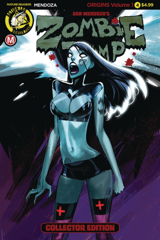 Zombie Tramp: Origins #4 (Celor Cover)