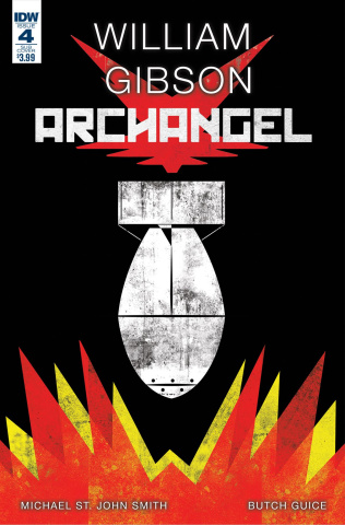 Archangel #4 (Subscription Cover)