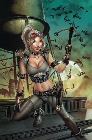 Van Helsing vs. Dracula's Daughter #1 (Otero Cover)