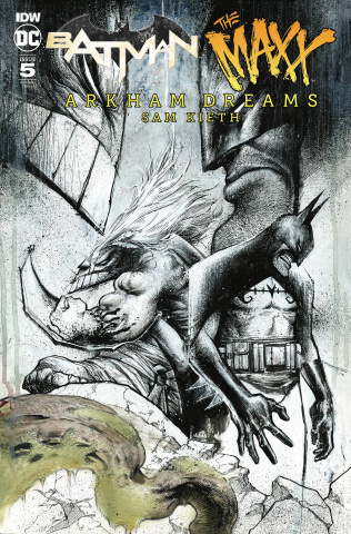 Batman / The Maxx: Arkham Dreams #5 (10 Copy Wayshak Cover)