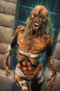 Grimm Fairy Tales: Van Helsing vs. The Mummy of Amun Ra #2 (Bifulco Cover)