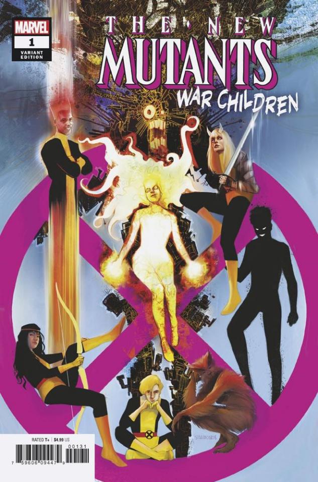 New Mutants: War Children #1 (Simmonds Cover)