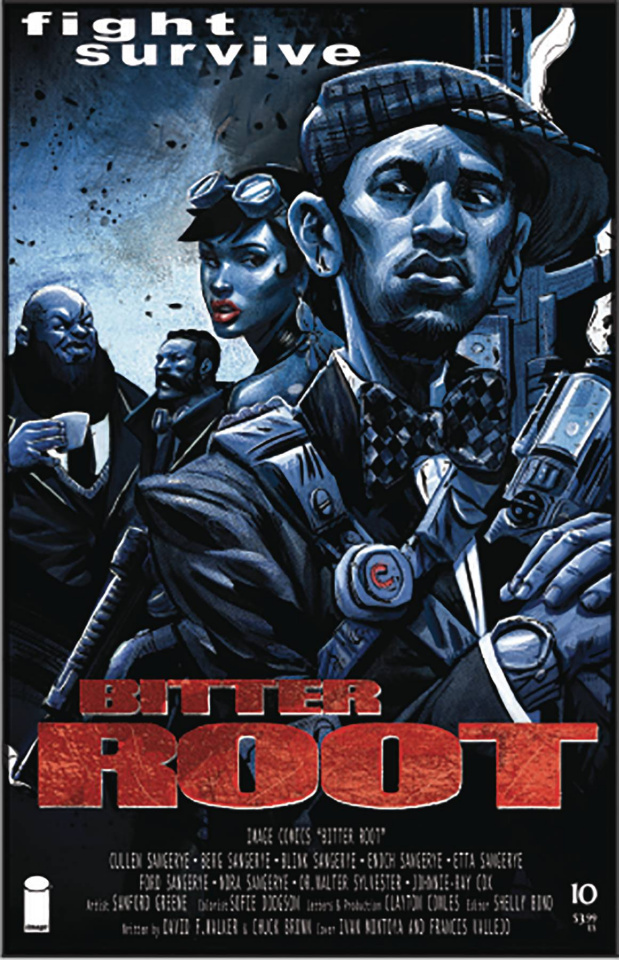 Bitter Root #10 (Vallejo Cover)