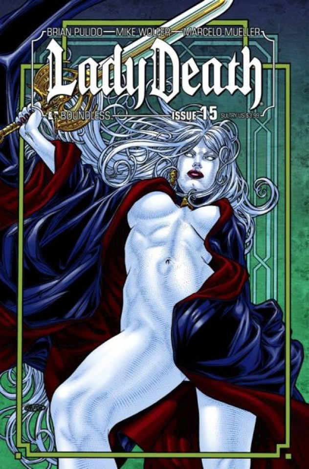 Lady Death #15 (Sultry Cover)