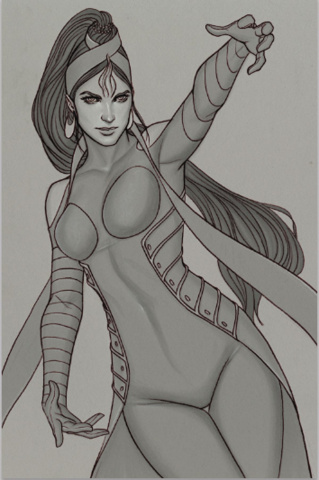 Devi: Rebirth #5 (Limited Edition Frison Sketch Cover)