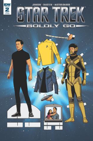 Star Trek: Boldly Go #2 (25 Copy Cover)
