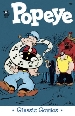 Popeye Classics #40