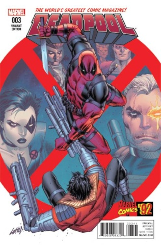 Deadpool #3 (Liefeld Marvel '92 Cover)
