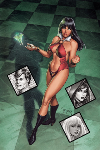 Vampirella: Roses for the Dead #1 (10 Copy Linsner Cover)