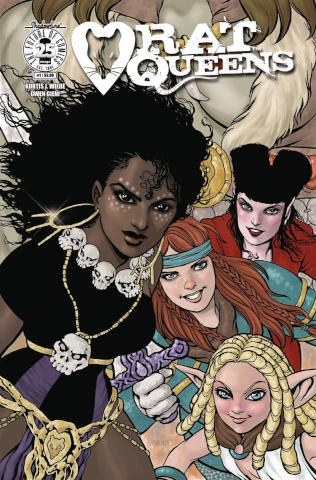 Rat Queens #1 (Women's History Month Charity Cover)