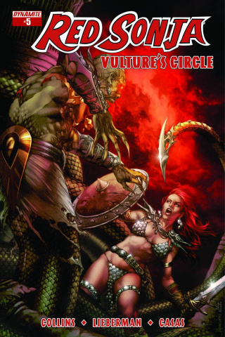 Red Sonja: Vulture's Circle #5 (Anacleto Cover)