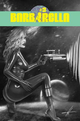 Barbarella #3 (20 Copy Cohen B&W Cover)