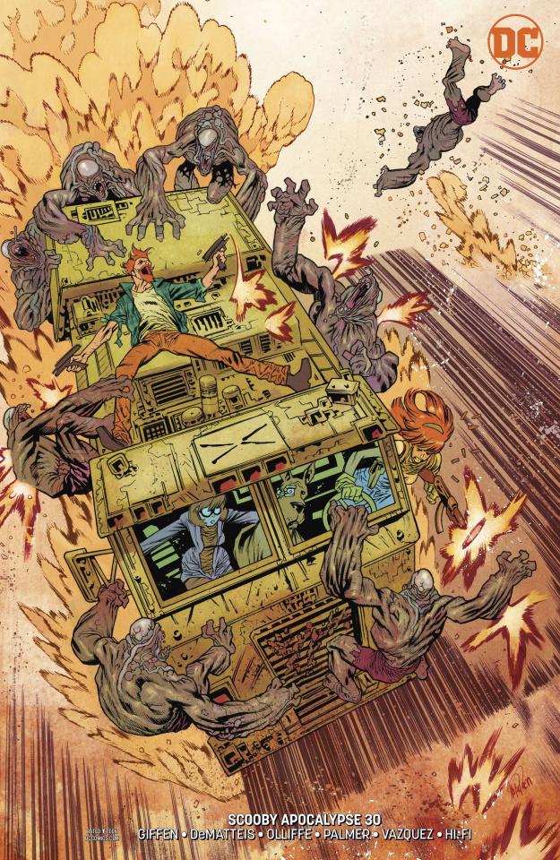 Scooby: Apocalypse #30 (Variant Cover)