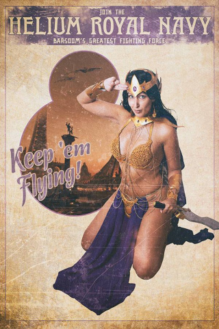 Dejah Thoris #8 (30 Copy Tasha UK Cosplay Virgin Cover)