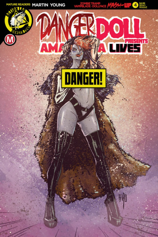 Danger Doll Squad Presents: Amalgama Lives #4 (Action Figure Cover)