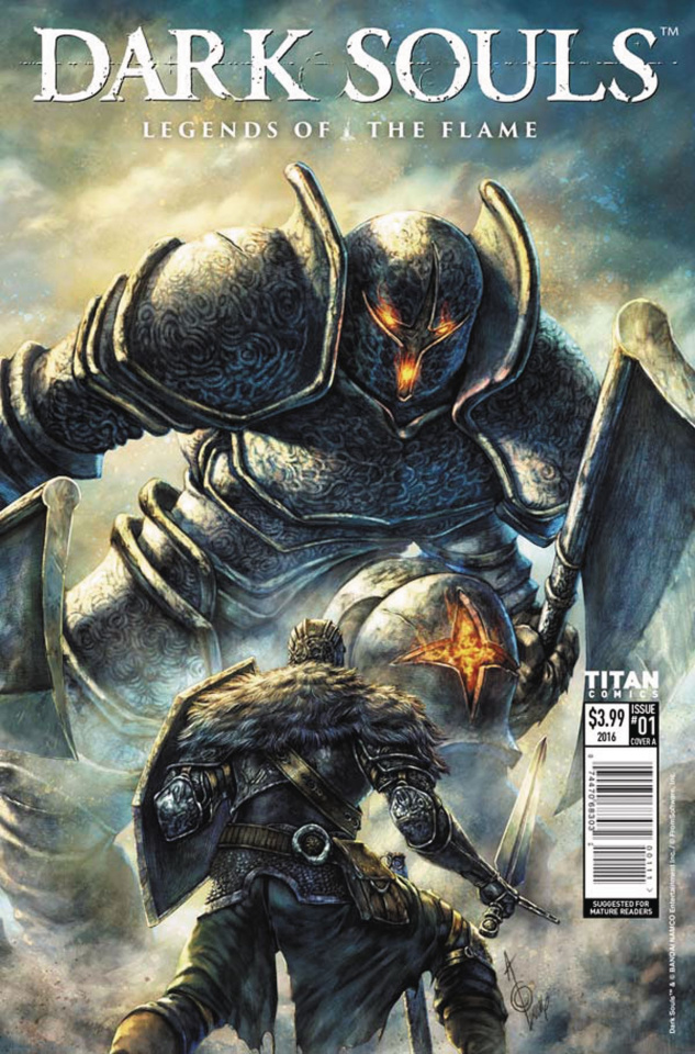 Dark Souls: Legends of the Flame #1 (Quah Cover)