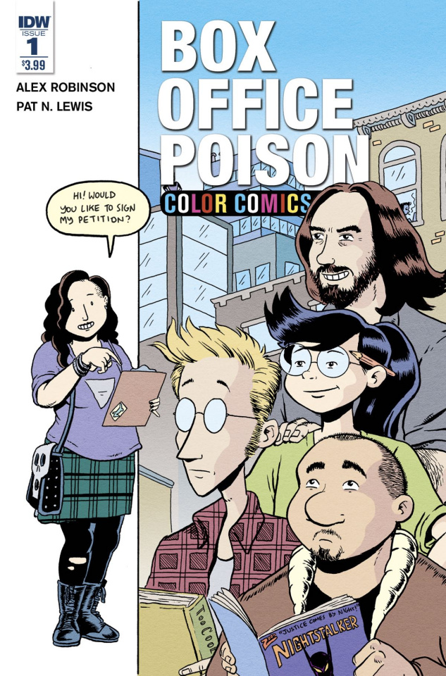 Box Office Poison: Color Comics #1