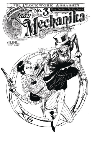 Lady Mechanika: The Clockwork Assassin #3 (10 Copy Cover)