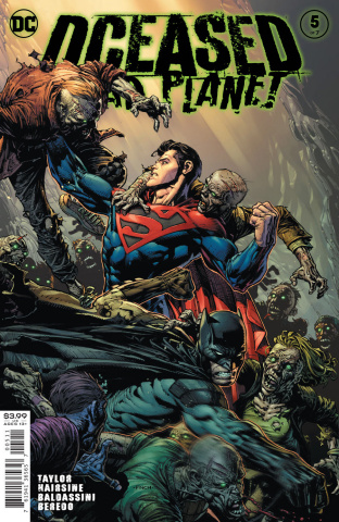 DCeased: Dead Planet #5 (David Finch Cover)