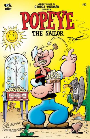 Popeye Classics #50 (10 Copy Cover)