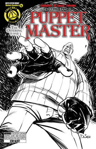 Puppet Master #1 (Pinhead Sketch Cover)