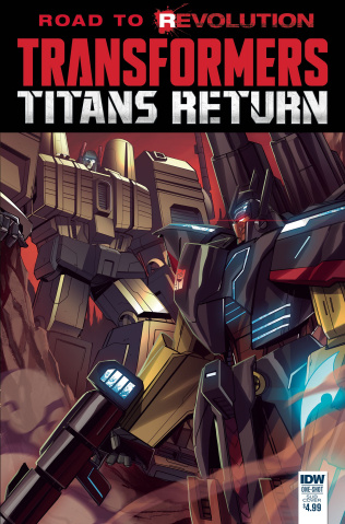 The Transformers: Titans Return #1 (Subscription Cover)