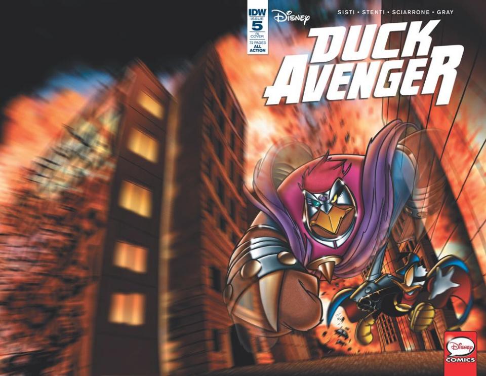 Duck Avenger #5 (10 Copy Cover)
