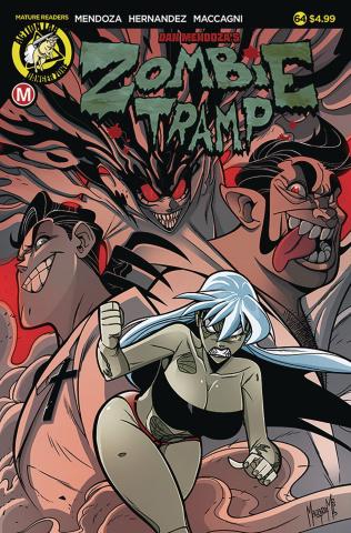 Zombie Tramp #64 (Maccagni Cover)