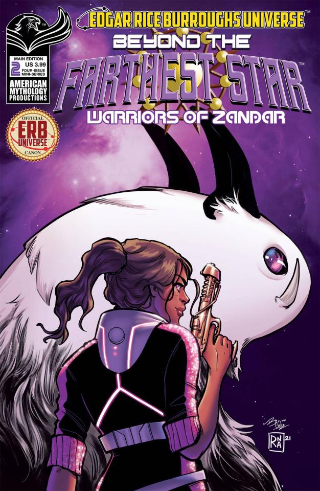 Beyond the Farthest Star #2 (Ranaldi Cover)