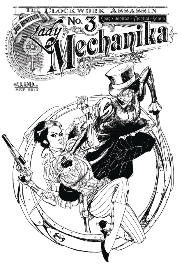Lady Mechanika: The Clockwork Assassin #3 (10 Copy Cover)