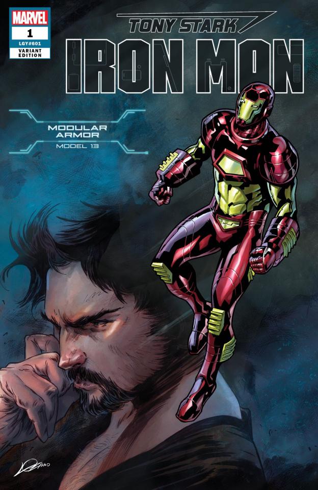 Tony Stark: Iron Man #1 (Modular Armor Cover)