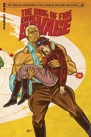 Doc Savage: The Ring of Fire #4 (Schoonover Cover)