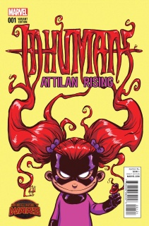 Inhumans: Attilan Rising #1 (Young Cover)