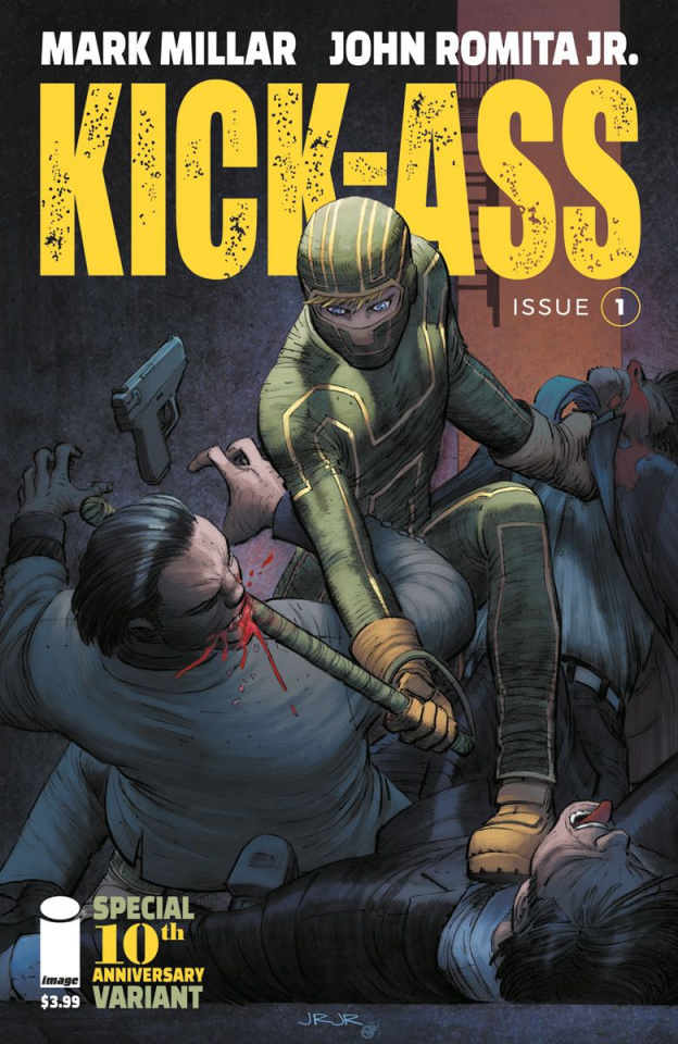 Kick-Ass #1 (25 Copy Incv Romita Jr. Cover)