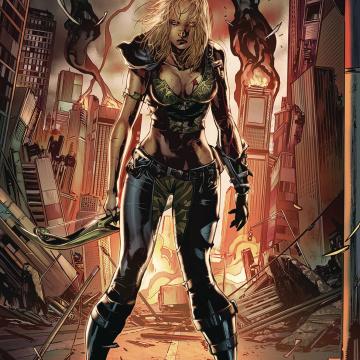 Robyn Hood: Vigilante #6 (White Cover)