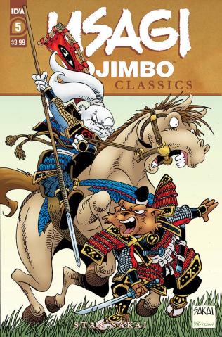 Usagi Yojimbo: Color Classics #5 (Sakai Cover)