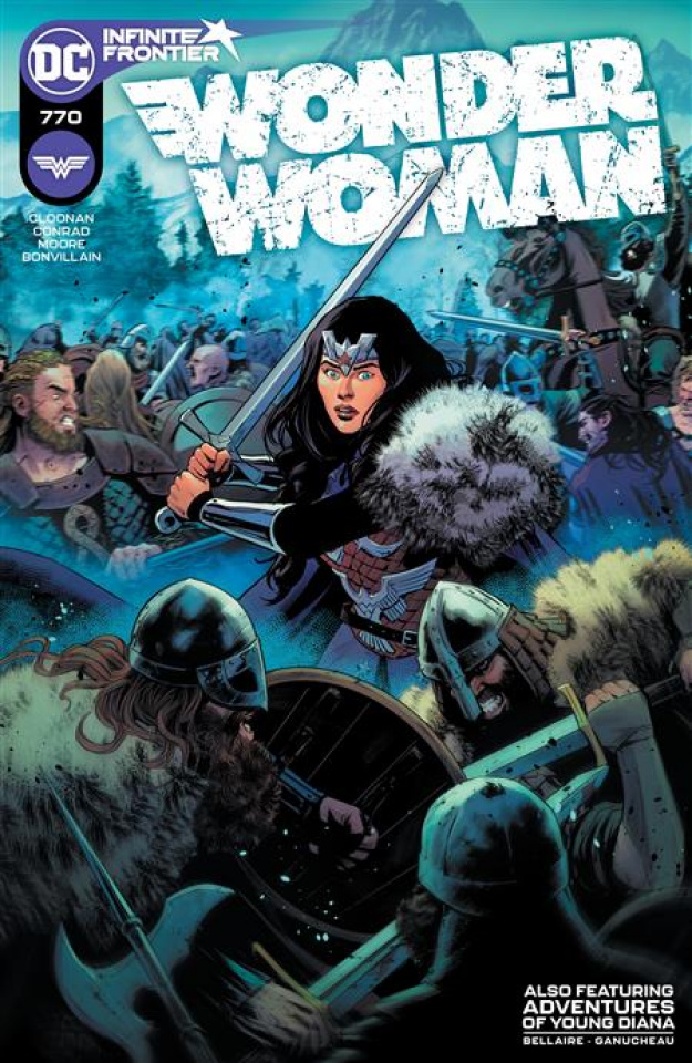 Wonder Woman #770 (Travis Moore Cover)