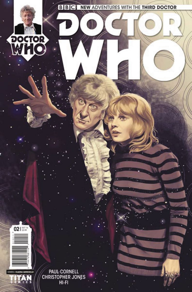 Doctor Who: New Adventures with the Third Doctor #2 (Ianniciello Cover)